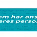 Ansvar for persondata