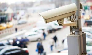 Overvågningskamera